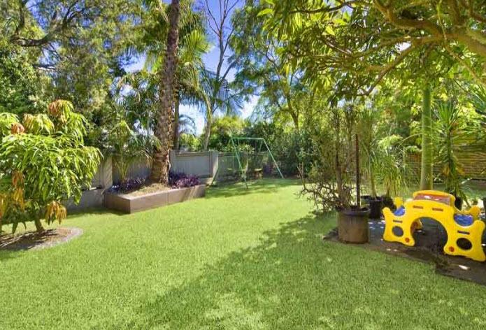 Tropical garden care
