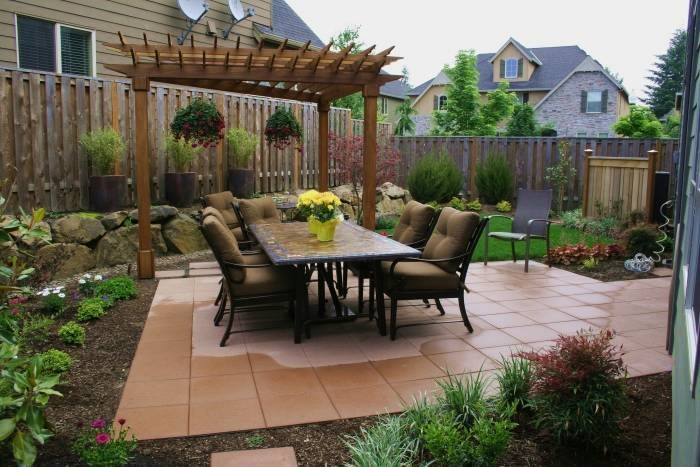 The 5 Best Landscaping Ideas For Small Backyards - Jim